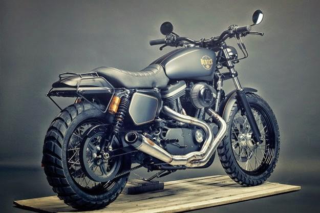 Sportster 1200 Can Be A Good Harley Scrambler Platform