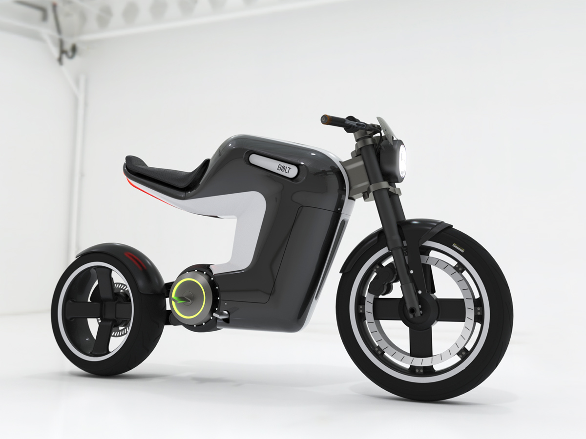 springtime bolt electric bike concept has infinite cool. Black Bedroom Furniture Sets. Home Design Ideas
