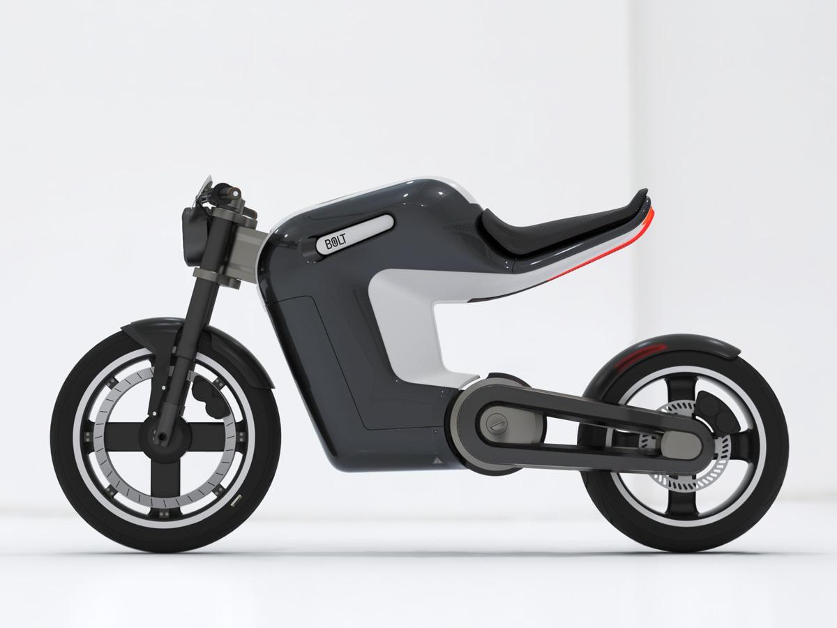 Springtime Bolt Electric Bike Concept Has Infinite Cool Factor
