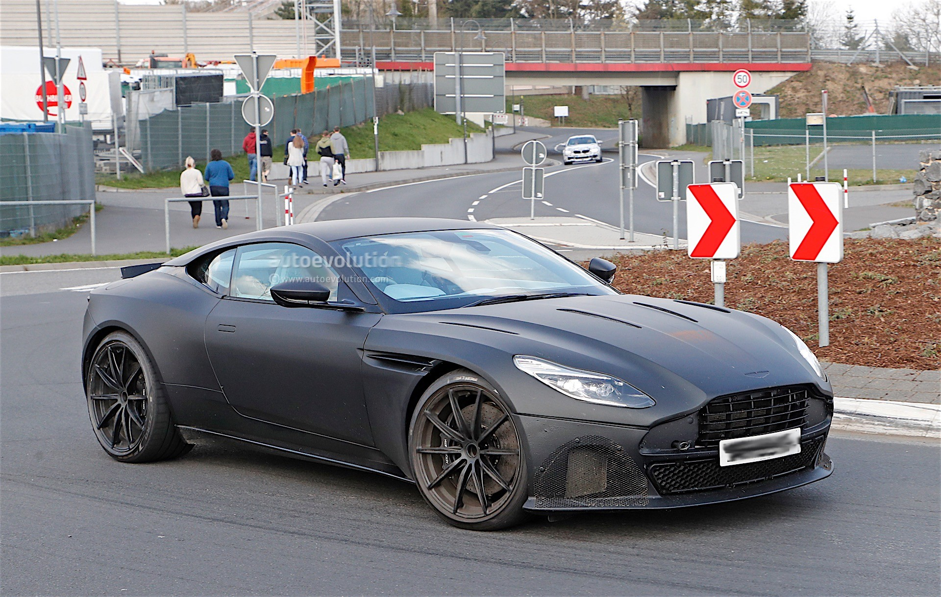 Aston Martin Db11 S Spied Near The Nurburgring It Looks Ready For Production Autoevolution