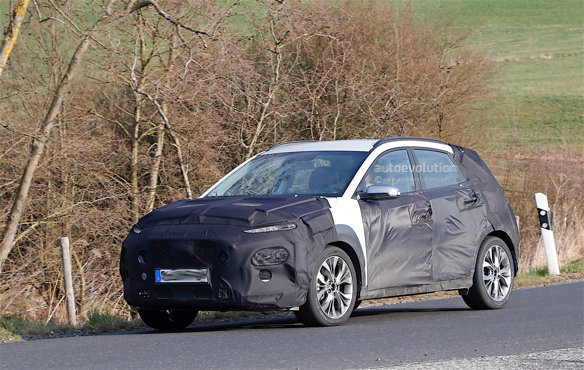 Hyundai kona spied again we have a view of the interior autoevolution hyundai kona hyundai kona solutioingenieria Gallery