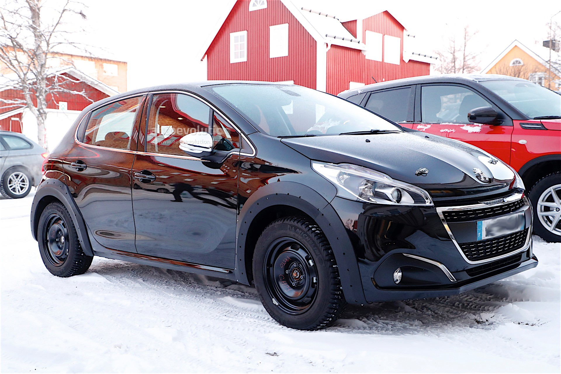2018 peugeot 208 mule spotted in sweden autoevolution. Black Bedroom Furniture Sets. Home Design Ideas