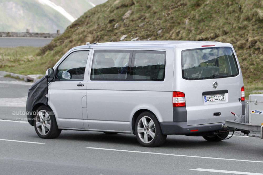 spyshots 2010 volkswagen transporter autoevolution. Black Bedroom Furniture Sets. Home Design Ideas