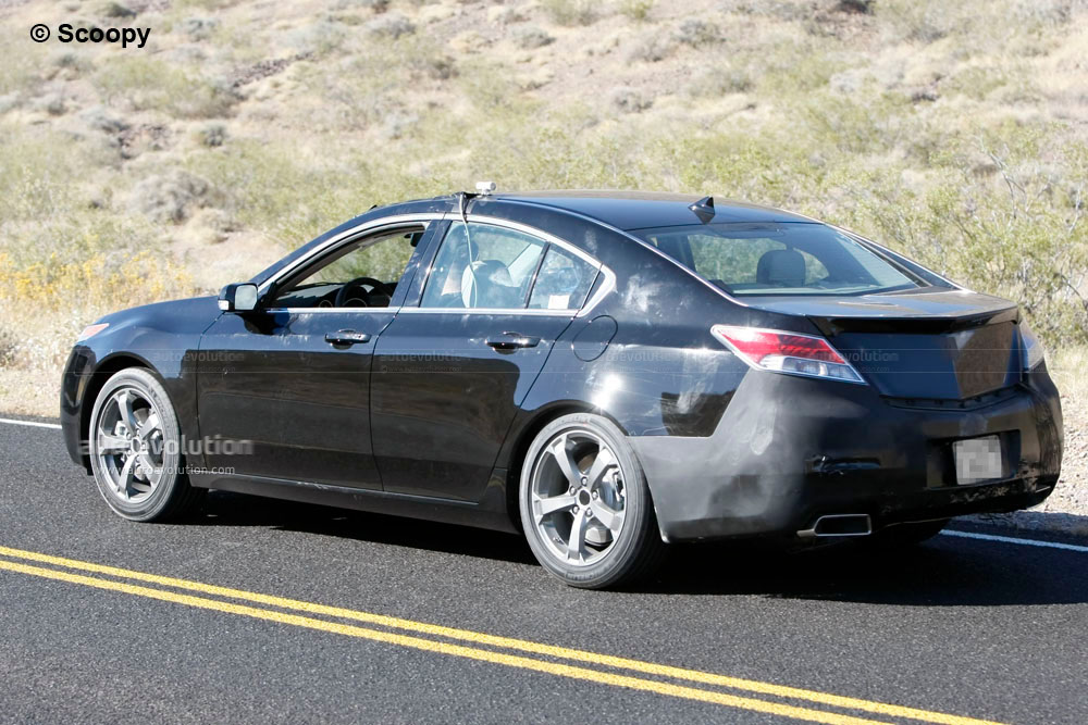 Spyshots 2011 Acura Tl Autoevolution
