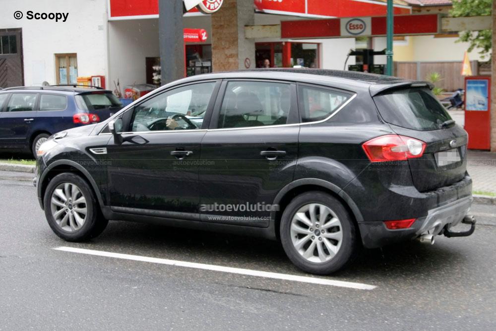 Spyshots: 2011 Ford Kuga Facelift - autoevolution
