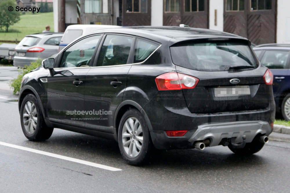 spyshots 2011 ford kuga facelift autoevolution. Black Bedroom Furniture Sets. Home Design Ideas