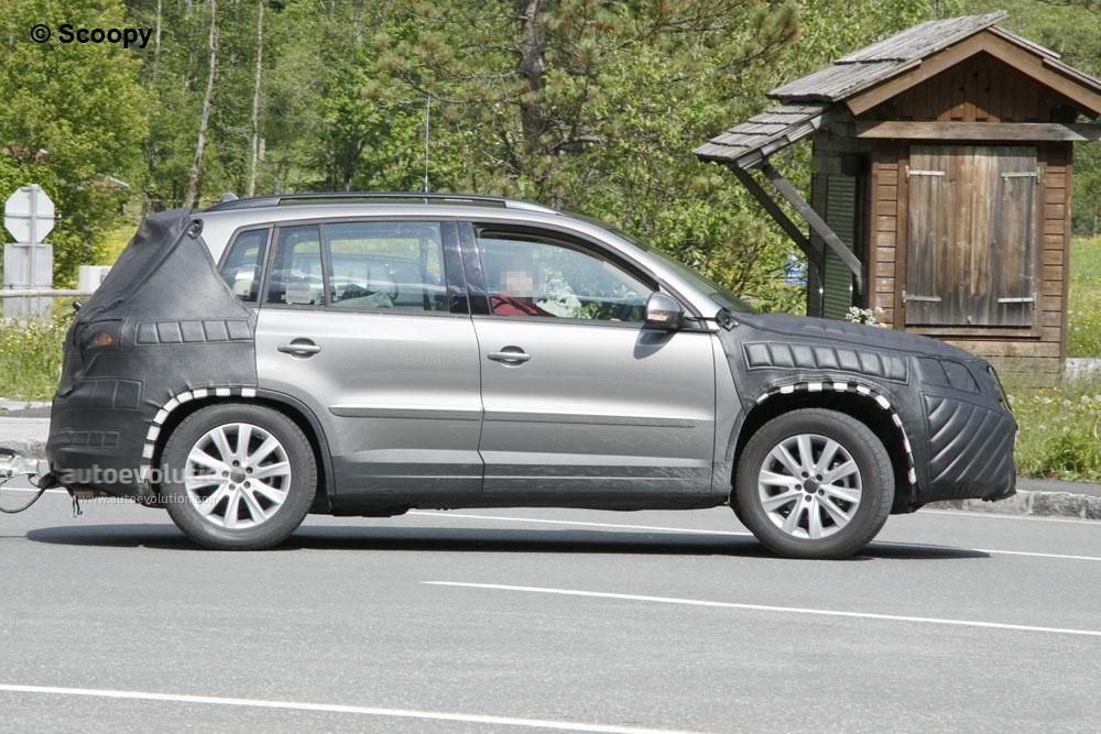 spyshots 2011 volkswagen tiguan autoevolution. Black Bedroom Furniture Sets. Home Design Ideas