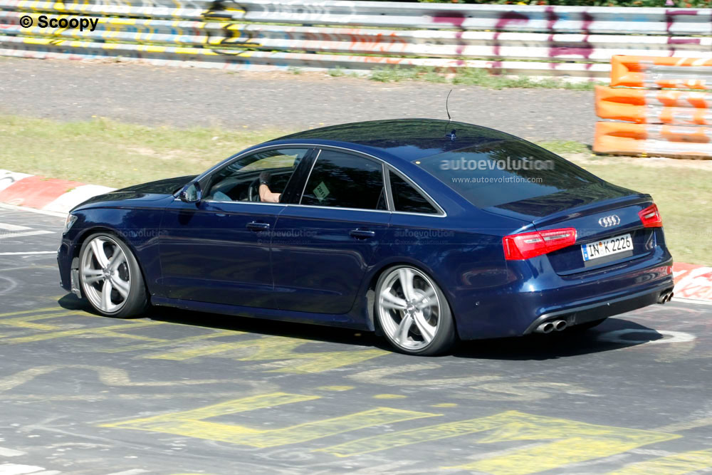 New Audi S5 >> Spyshots: 2012 Audi S6 Spotted on the 'Ring, Could Come With 440 HP V8 - autoevolution