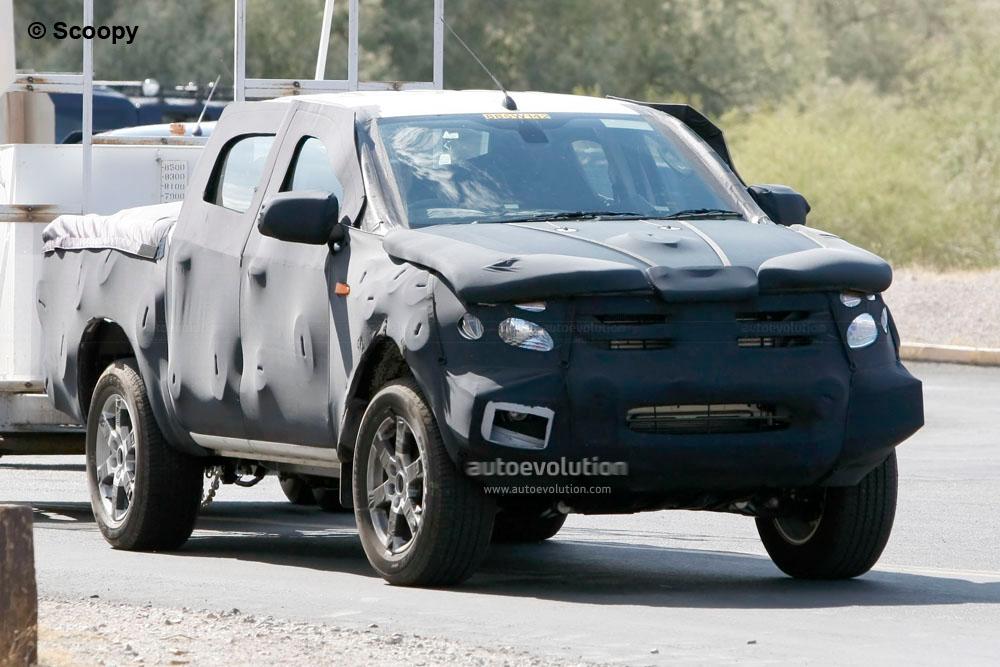 Spyshots 2012 Ford Ranger Autoevolution