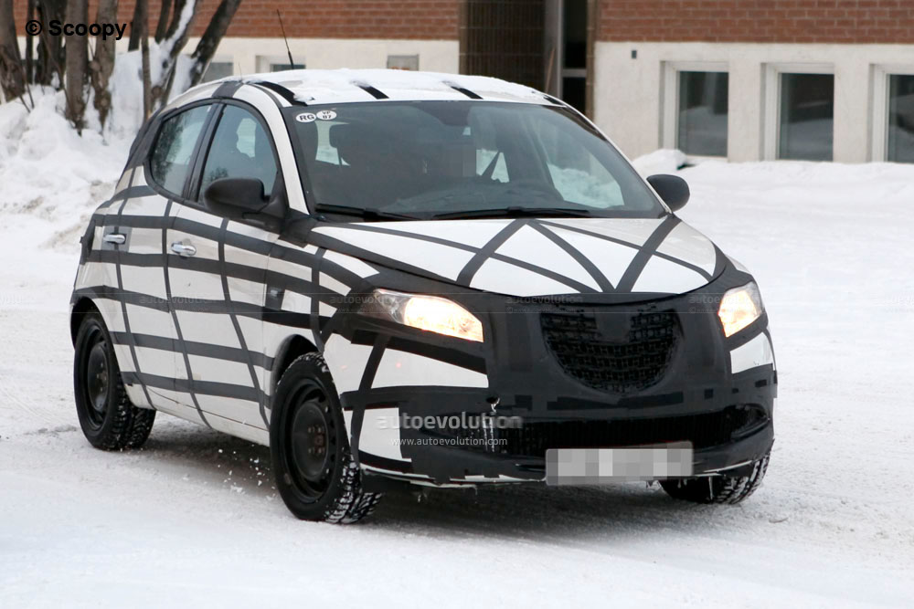 spyshots 2012 lancia ypsilon testing in sweden autoevolution. Black Bedroom Furniture Sets. Home Design Ideas