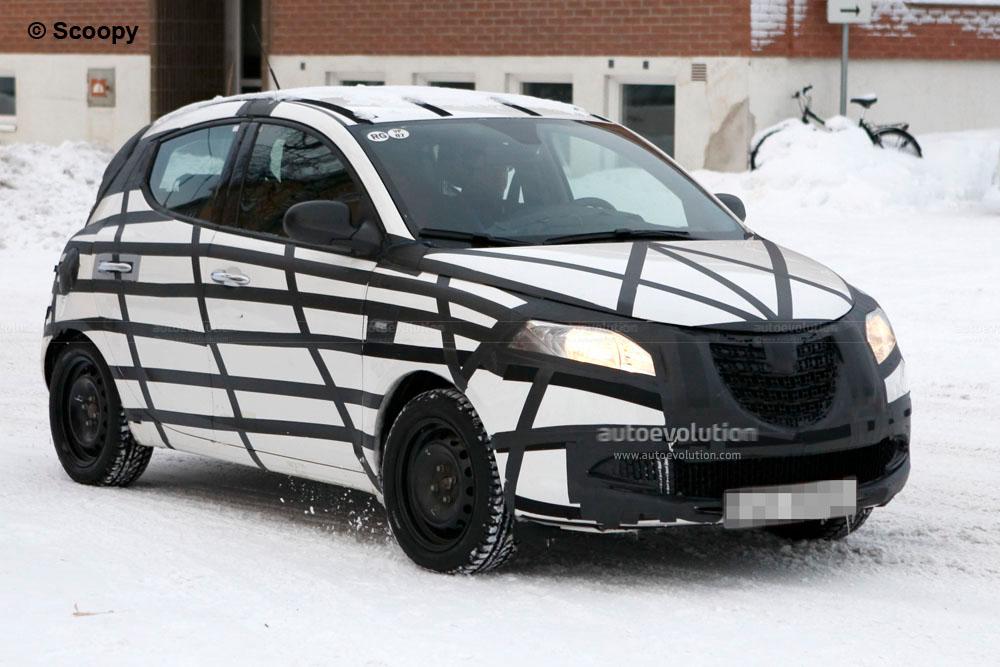 Spyshots 2012 Lancia Ypsilon Testing In Sweden Autoevolution