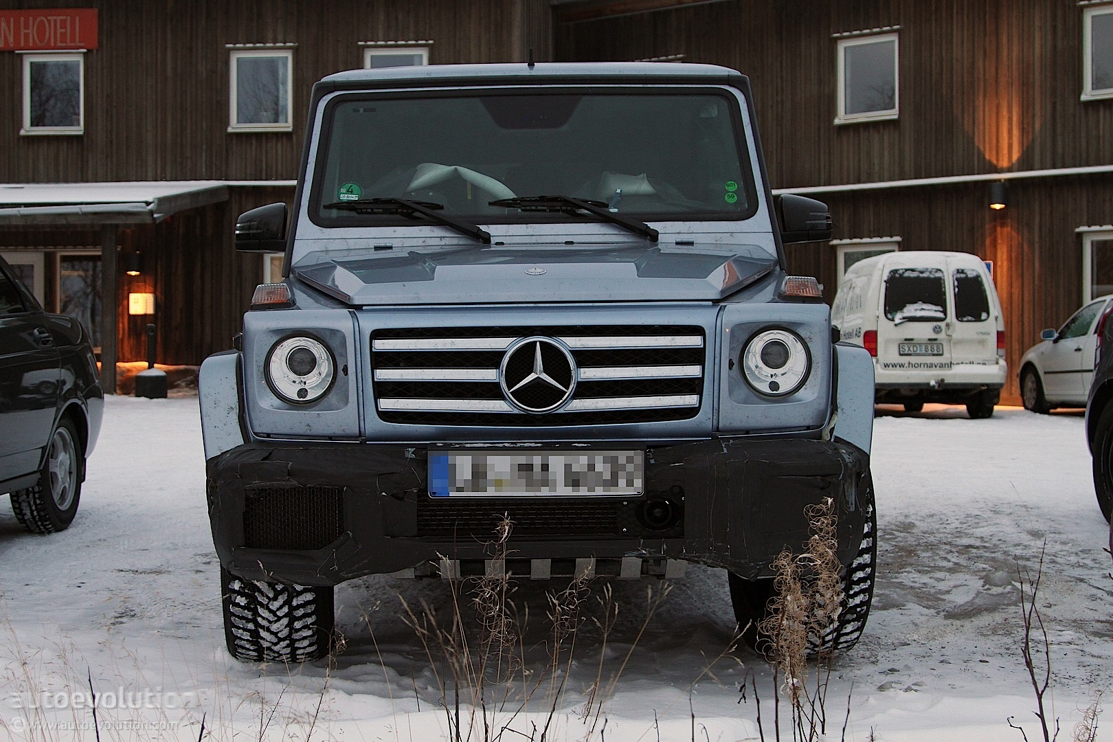Spyshots: Mercedes G55 AMG Facelift and G65 AMG - autoevolution