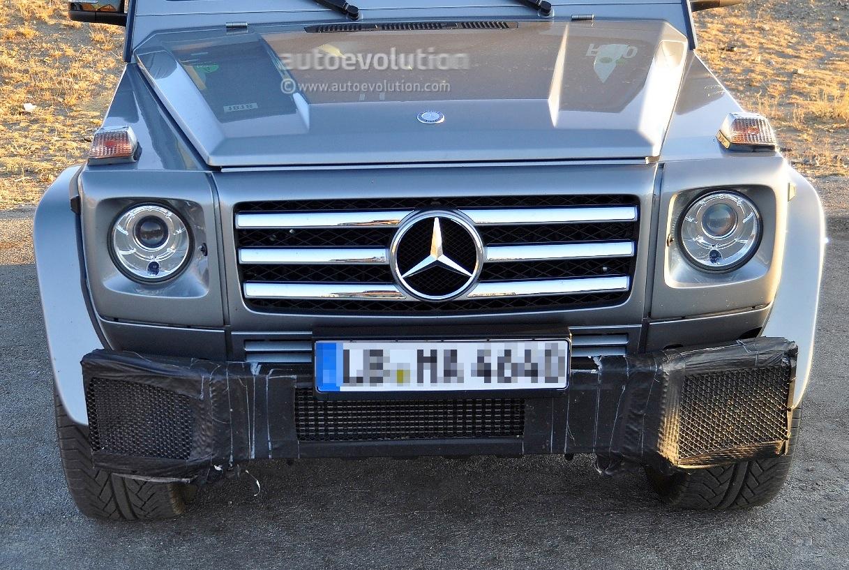 Spyshots: 2012 Mercedes G55AMG/G65 AMG? - autoevolution
