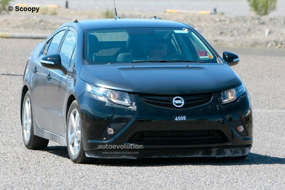 Spyshots 2012 Opel Ampera Autoevolution