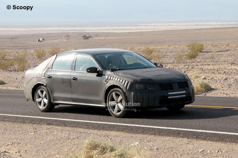 spyshots 2012 volkswagen new midsize sedan autoevolution. Black Bedroom Furniture Sets. Home Design Ideas