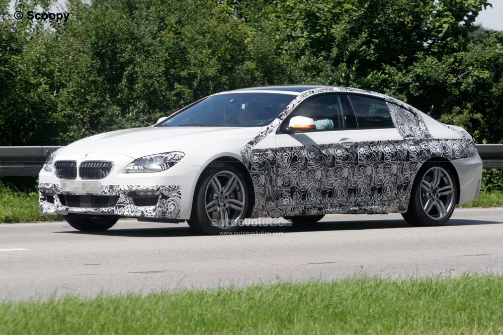 spyshots 2013 bmw 6 series gran coupe with m sport package autoevolution. Black Bedroom Furniture Sets. Home Design Ideas