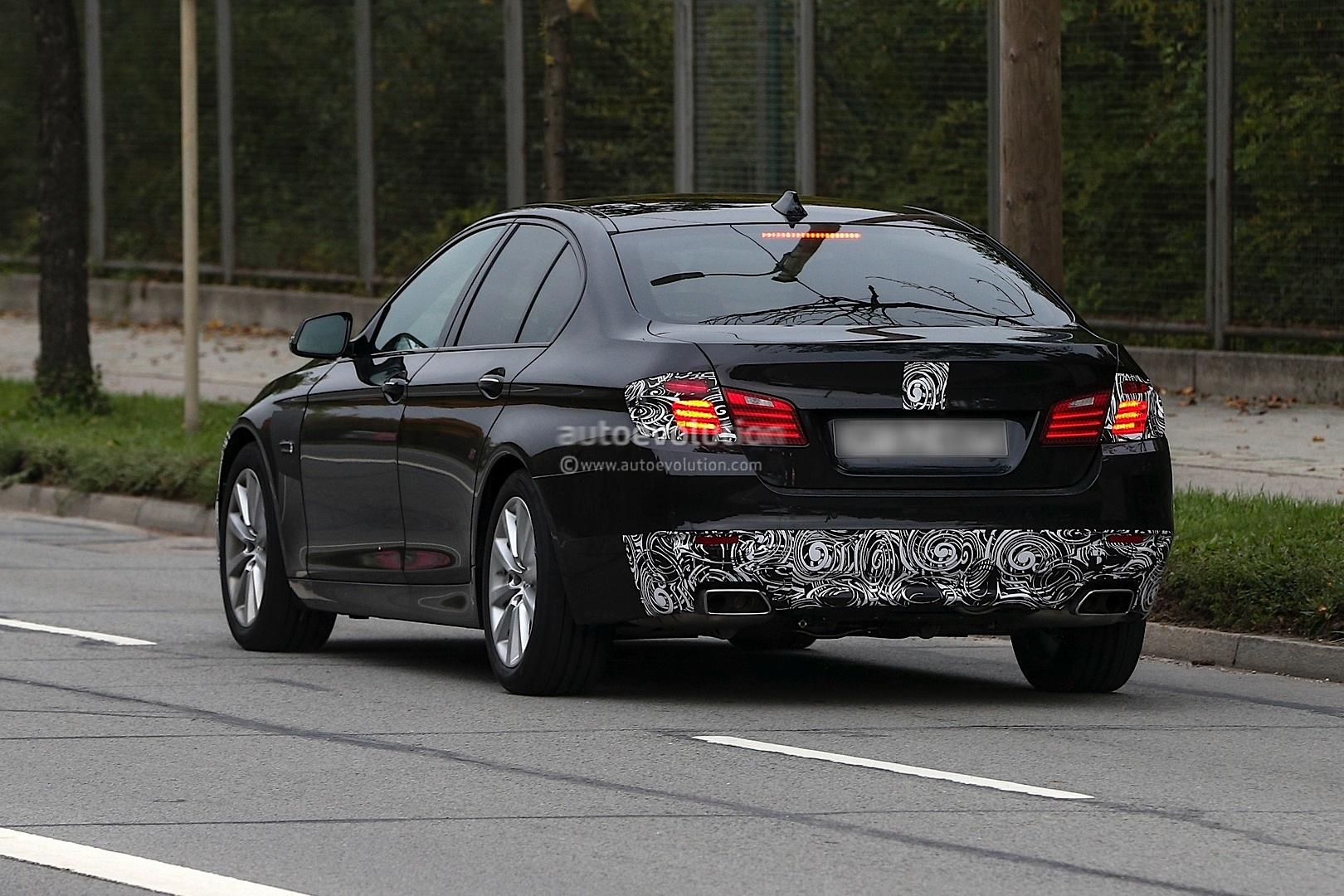 Spyshots: 2013 BMW F10 5-Series Facelift (LCI)