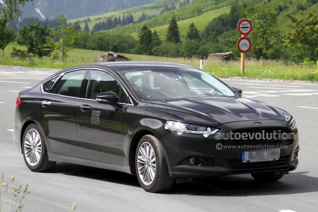 spyshots 2013 ford mondeo sedan autoevolution