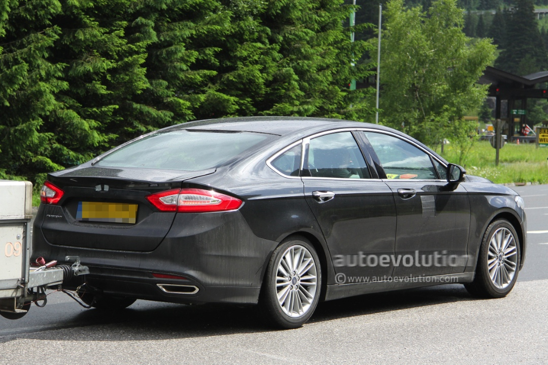 Spyshots 2013 ford mondeo sedan autoevolution