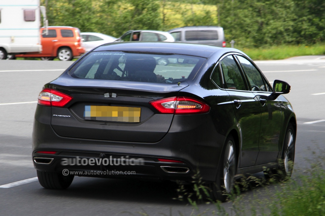 Ford Fusion Turbo >> Spyshots: 2013 Ford Mondeo Sedan - autoevolution