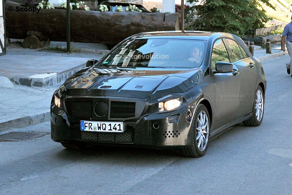 spyshots 2013 mercedes benz a klasse hatchback autoevolution. Black Bedroom Furniture Sets. Home Design Ideas