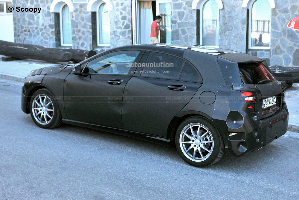 Happy Auto Sales >> Spyshots: 2013 Mercedes Benz A-Klasse Hatchback - autoevolution