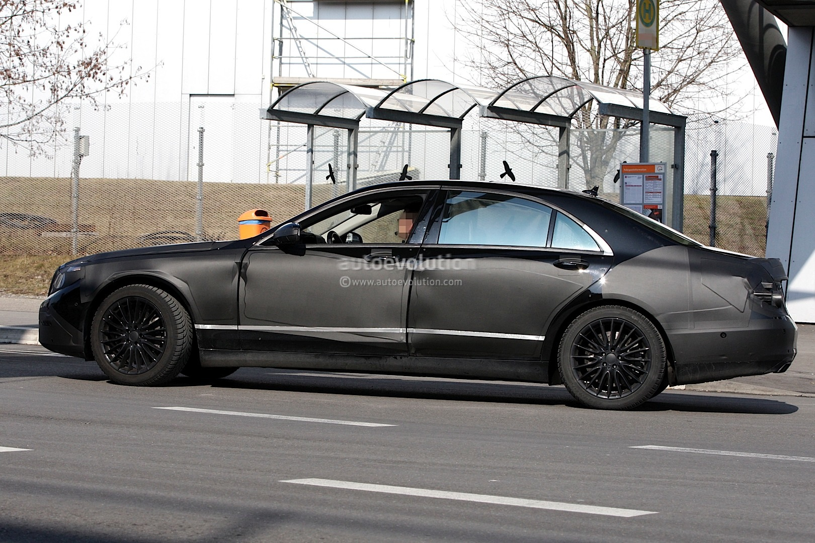 spyshots 2013 mercedes benz s class autoevolution. Black Bedroom Furniture Sets. Home Design Ideas