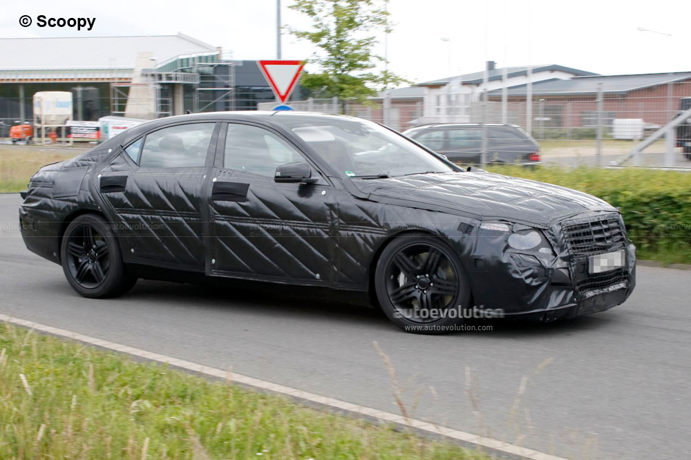 Spyshots 2013 mercedes benz s63 amg autoevolution for 2013 mercedes benz s63
