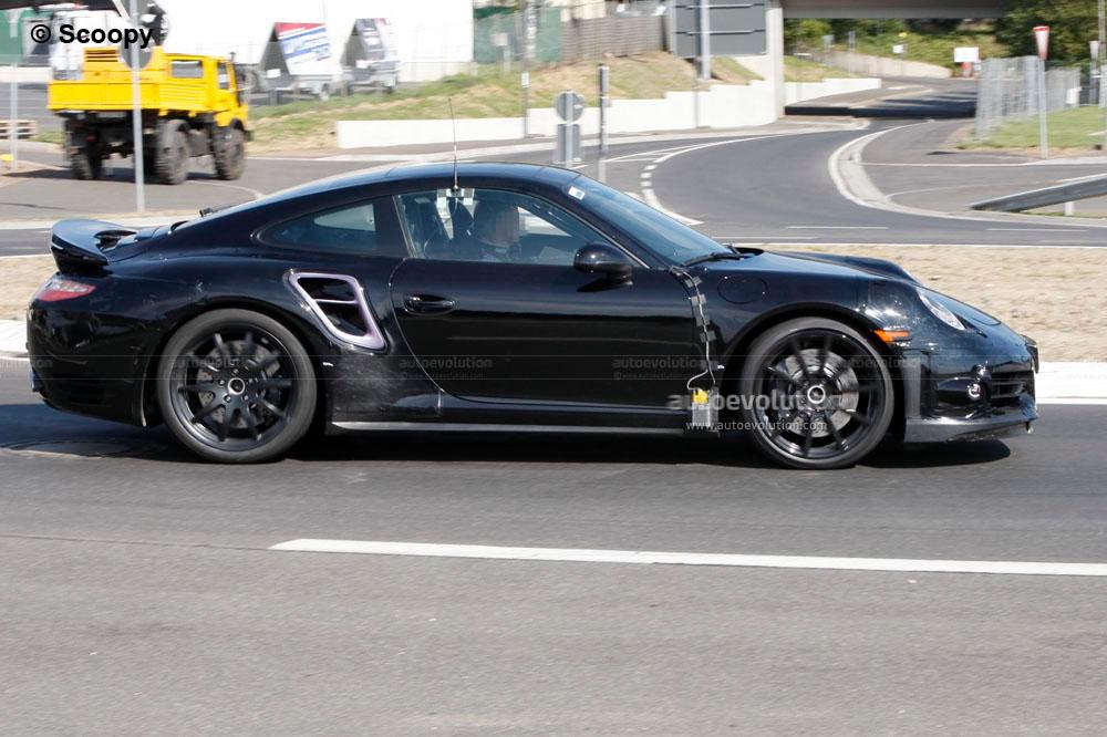 Spyshots: 2013 Porsche 911 Turbo 991 - autoevolution