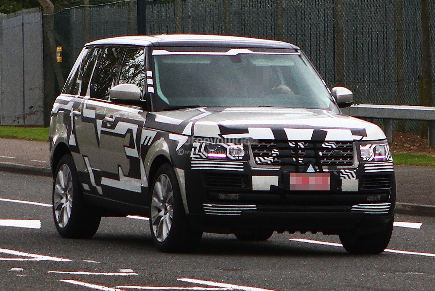 Spyshots 2013 Range Rover Drops Camo Autoevolution