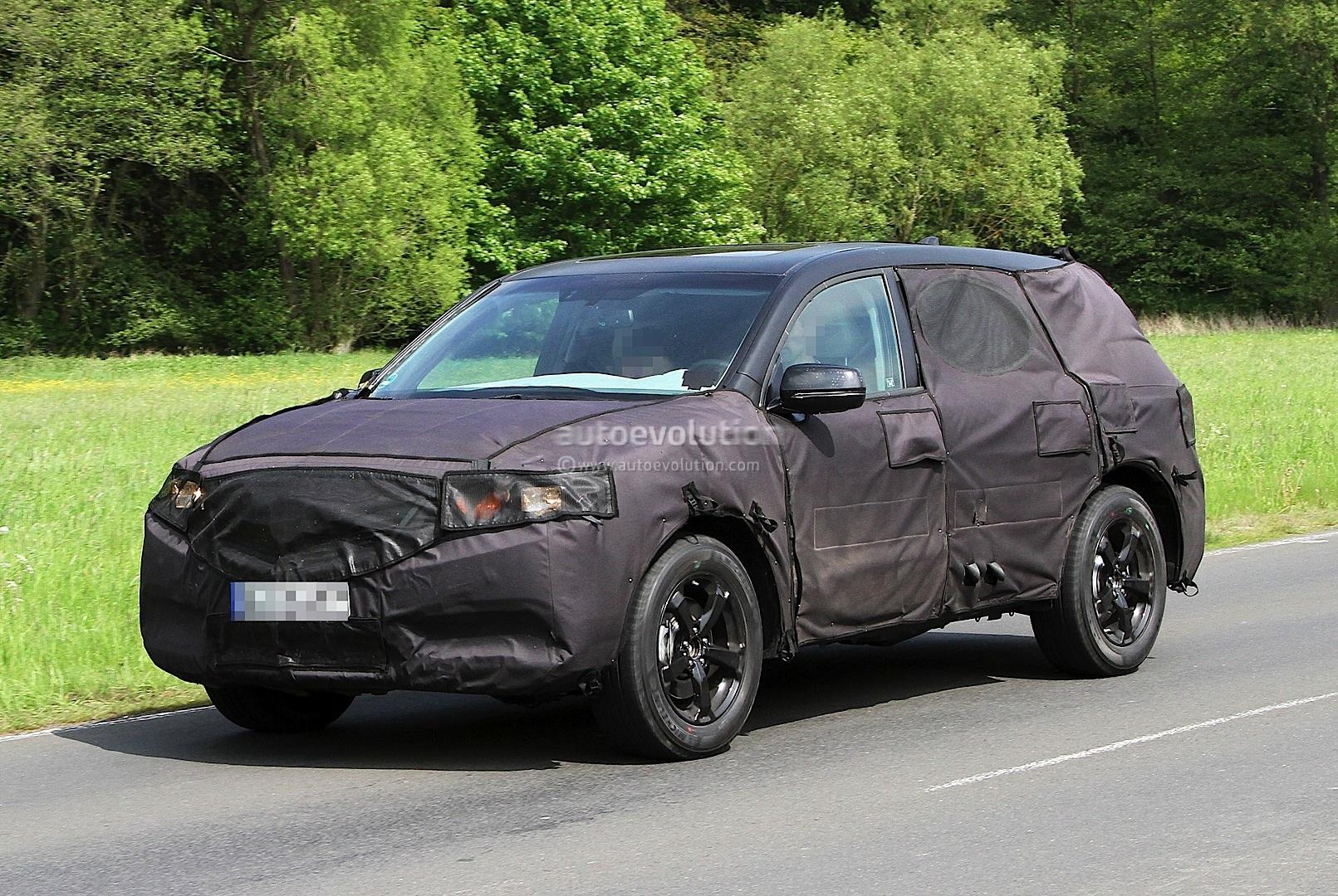 Spyshots: 2014 Acura MDX Testing in Germany