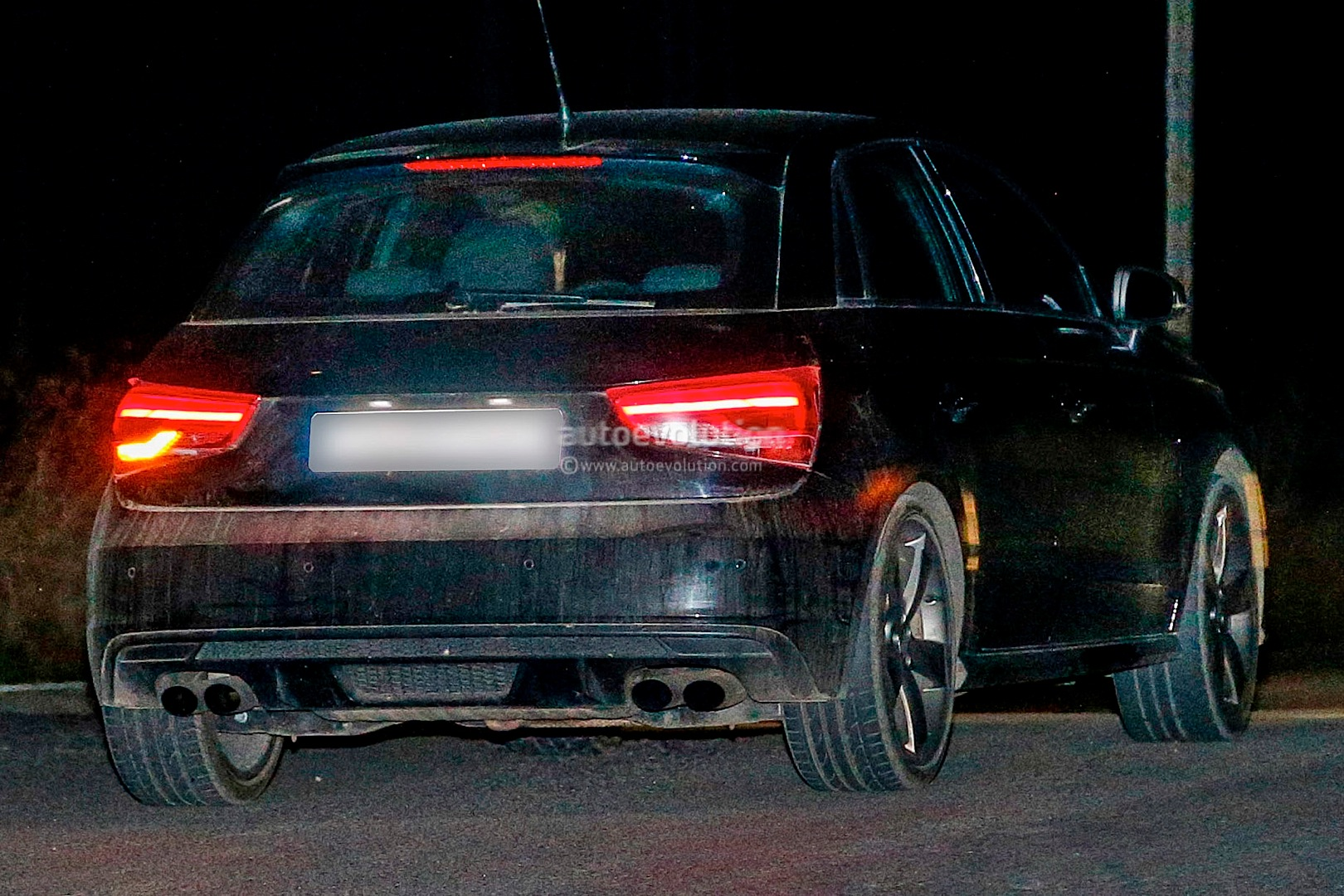 Spyshots 2014 Audi S1 Spotted With Facelift Autoevolution