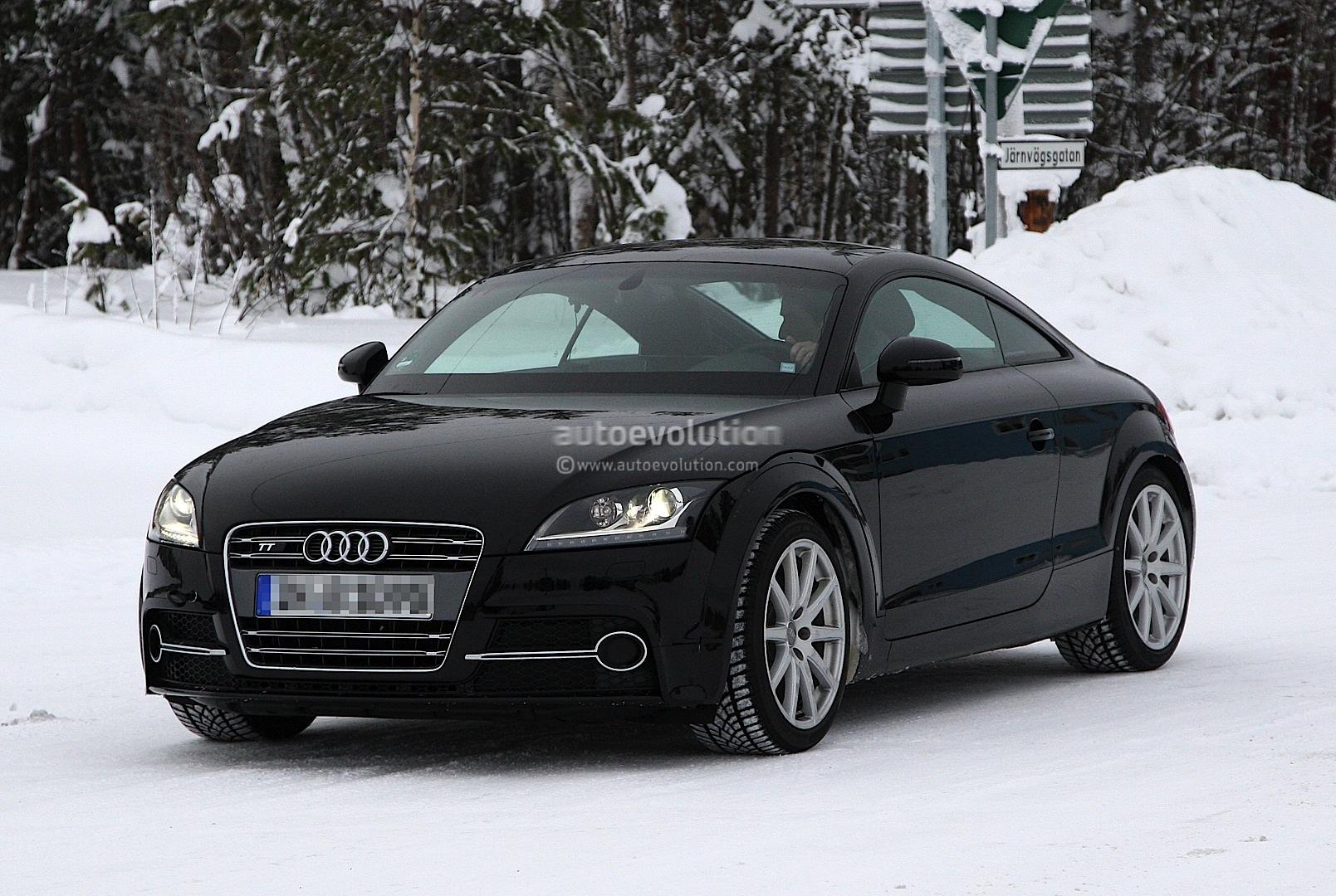 2014 Audi TT Test Mule Spyshots - photo gallery