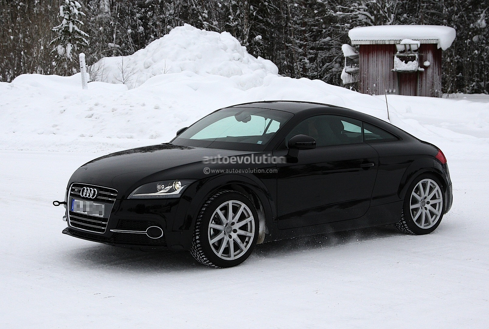 spyshots 2014 audi tt test mule. Black Bedroom Furniture Sets. Home Design Ideas
