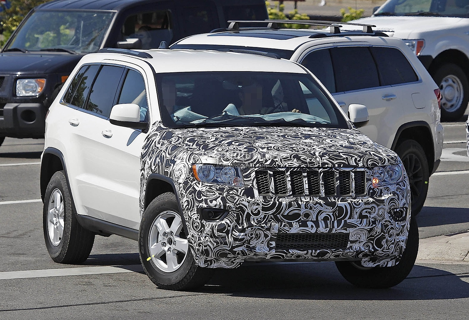 2014 Jeep Grand Cherokee Facelift - photo gallery