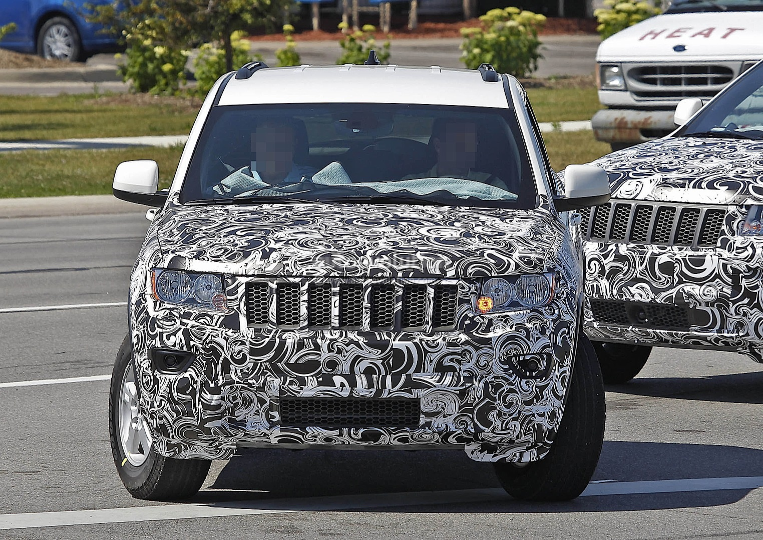 2014 Jeep Grand Cherokee Facelift #4/7