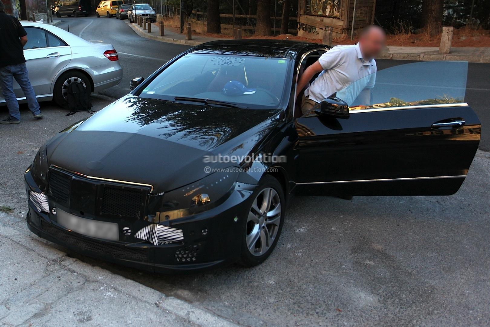 spyshots 2014 mercedes e class coupe facelift with less camo autoevolution. Black Bedroom Furniture Sets. Home Design Ideas