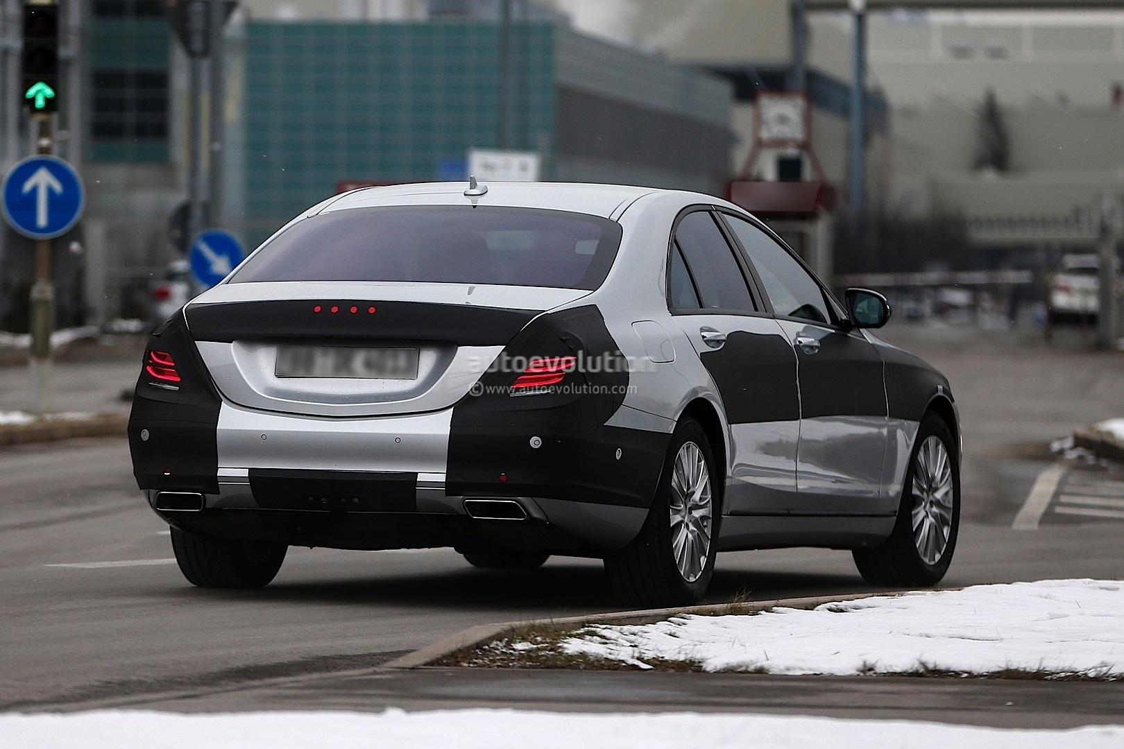 Spyshots 2014 mercedes s class loses more camo autoevolution