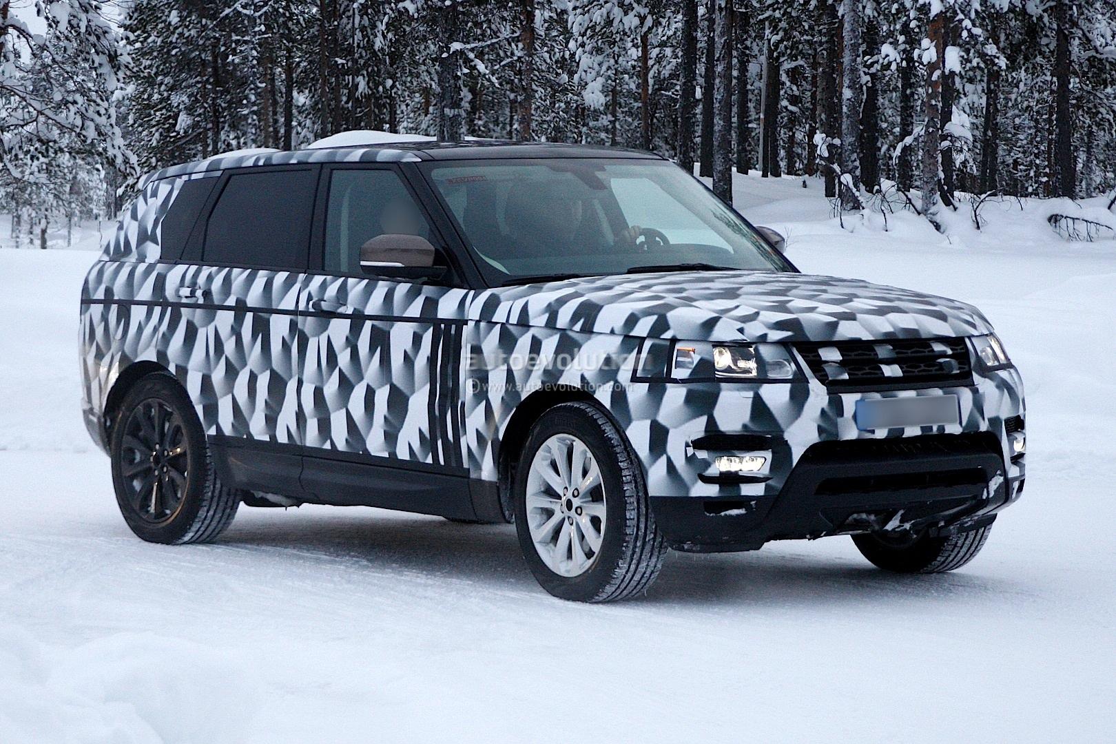 Spyshots 2014 Range Rover Sport Loses Some Camo