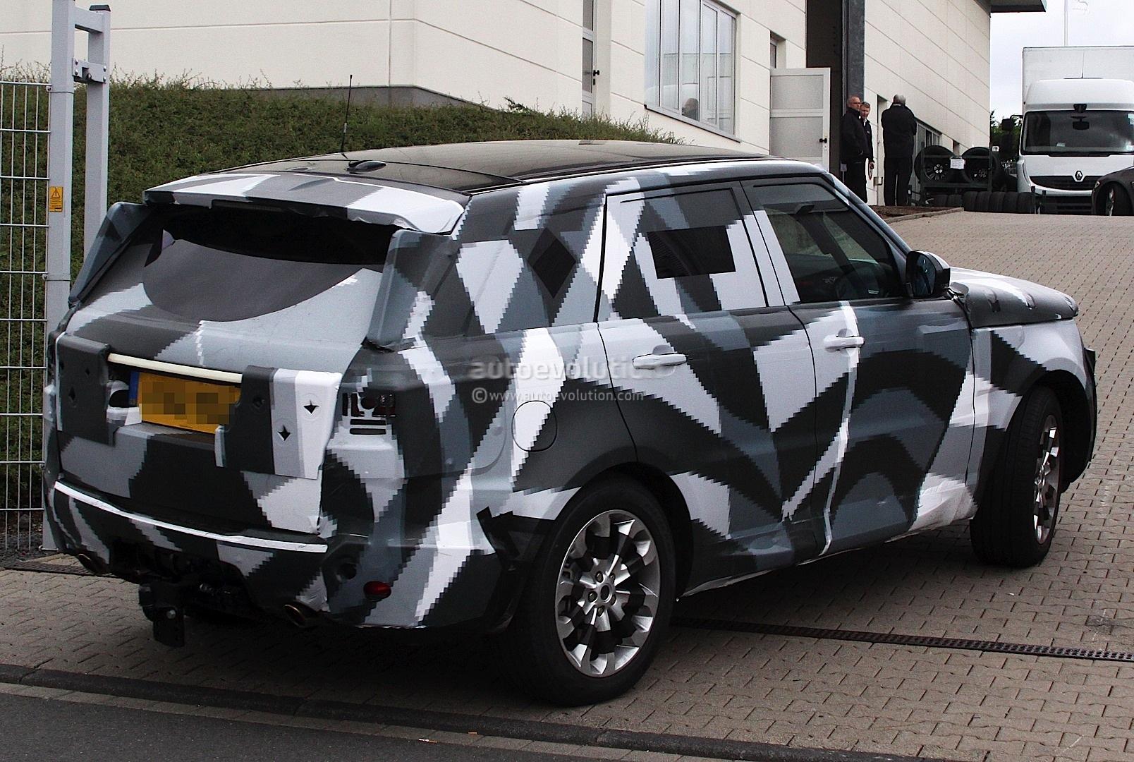 Spyshots 2014 Range Rover Sport Thinks It S A Volvo