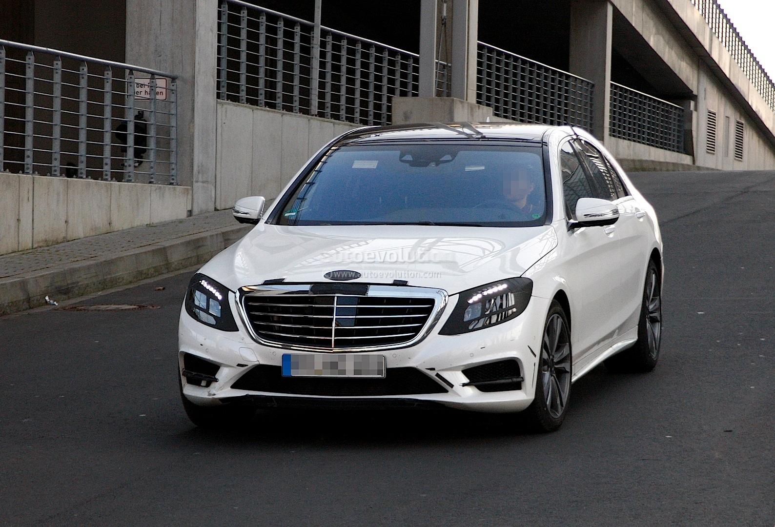 Toyota Of Pullman >> Spyshots: 2014 W222 Mercedes-Benz S-Class Almost Undisguised - autoevolution