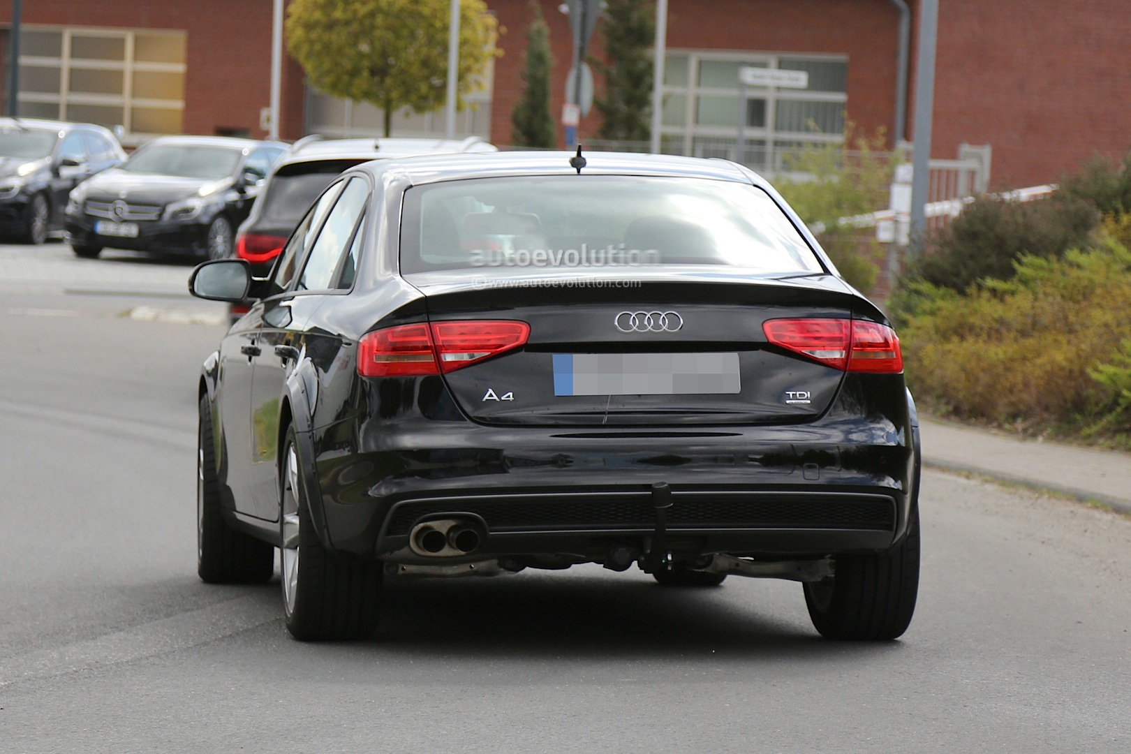 spyshots 2015 audi a4 allroad test mule autoevolution. Black Bedroom Furniture Sets. Home Design Ideas