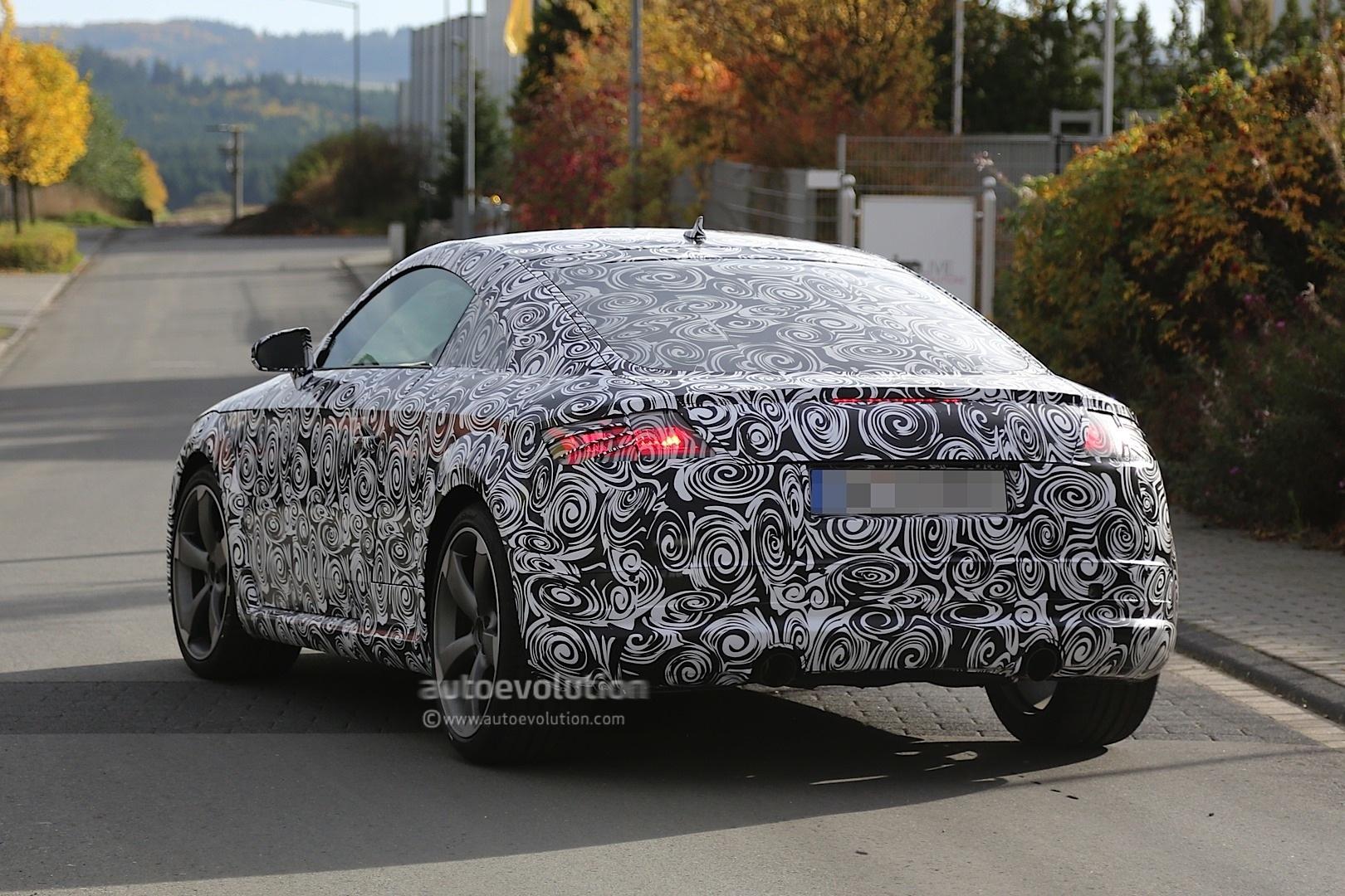 Spyshots: 2015 Audi TT Spotted in Germany - autoevolution
