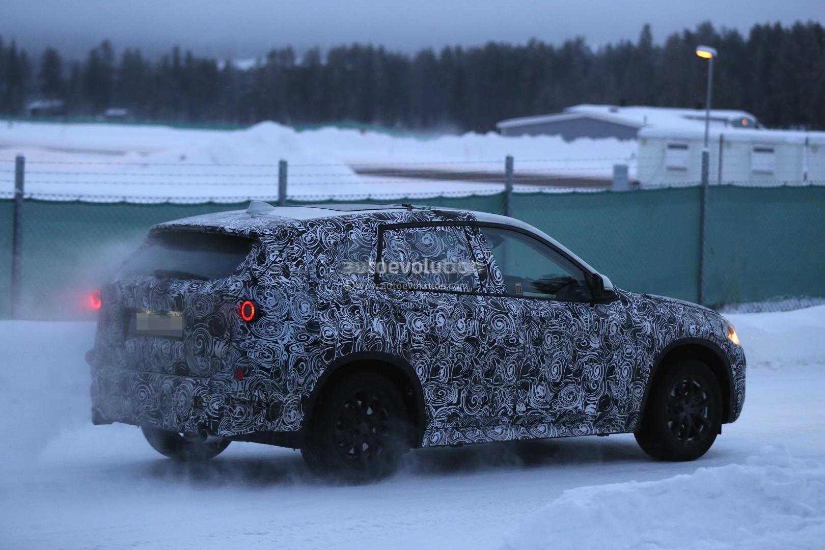 Spyshots 2015 Bmw X1 Winter Testing Autoevolution