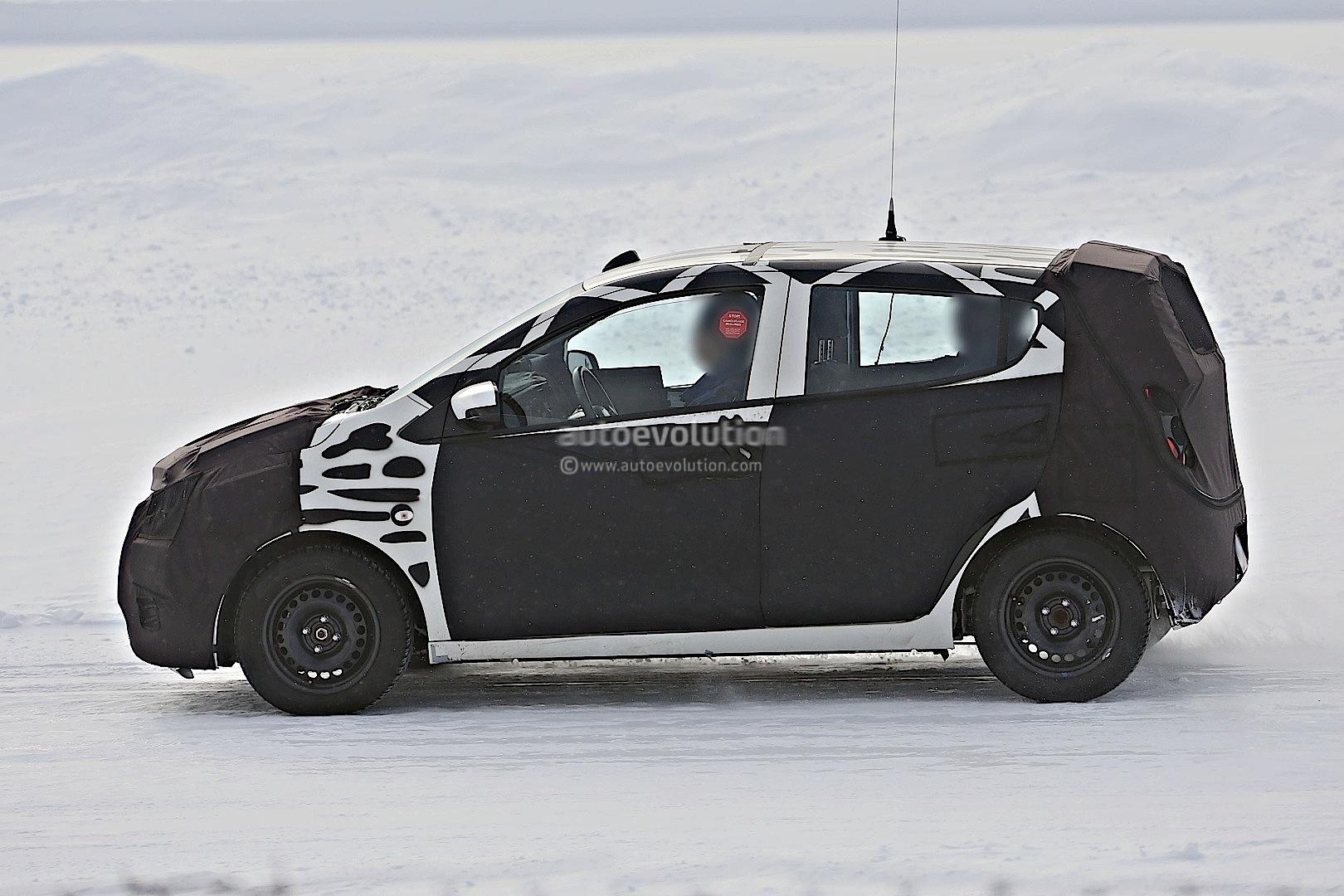 2015 - [Vauxhall/Opel] Viva / Karl Spyshots-2015-chevrolet-spark-caught-winter-testing_12