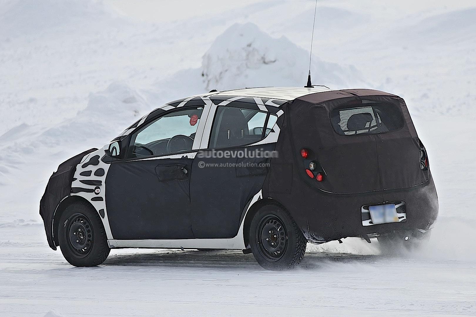 2015 - [Vauxhall/Opel] Viva / Karl Spyshots-2015-chevrolet-spark-caught-winter-testing_15