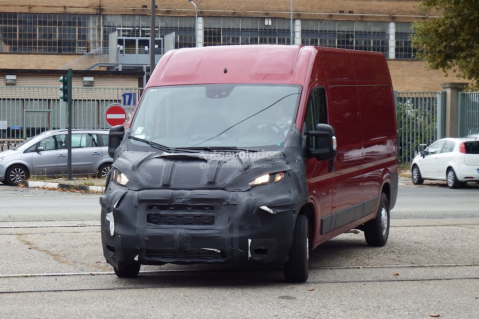 fiat ducato 2015 spyshots autos post. Black Bedroom Furniture Sets. Home Design Ideas
