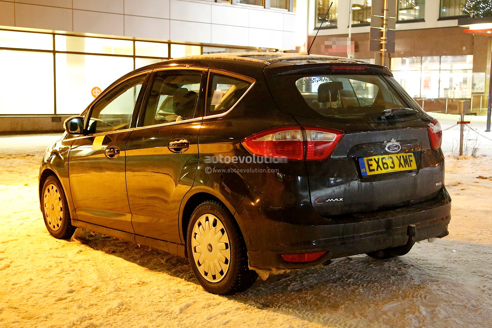 Spyshots: 2015 Ford C-Max Facelift Getting New Engines and ...
