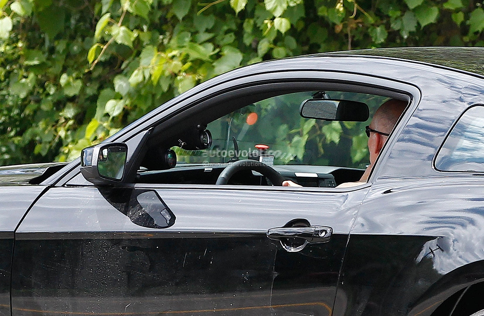 2015 Ford Mustang Test Mule Spy Shots #4/6