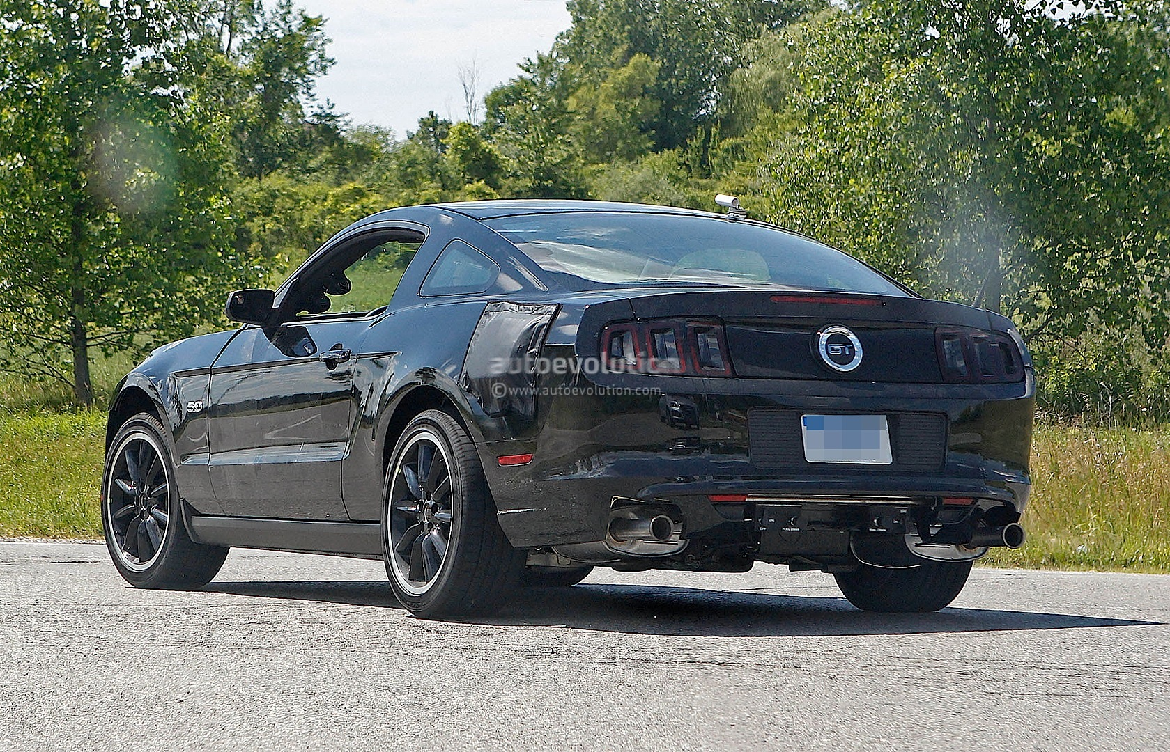 2015 Ford Mustang Test Mule Spy Shots #6/6